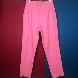Vintage pink pants. Fit like small